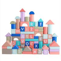 幼儿童积木益智力玩具3女孩宝宝1-2岁男孩木头拼装早教多功能