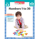 Scholastic Study Smart: Numbers 1 to 30?  K2  学乐聪明学习系列练习册K2:数字(Ages 5-6)ISBN 9789810713768
