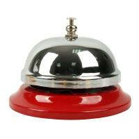 大贸商 红色按铃 金属呼叫铃 手按铃餐桌铃 游戏铃 比赛铃 AF01446