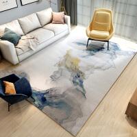 北欧简约现代客厅茶几地毯新中式沙发卧室床边家用免洗易打理