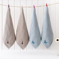 全棉纱布方巾宝宝儿童小毛巾纯棉四方洗脸女软家用婴儿沙布正方形 34x34cm
