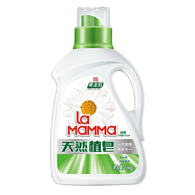 【郎平推荐】威露士妈妈壹选天然皂液洗衣液2斤 去污清洁易漂清 品质之选