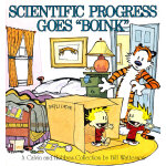 Scientific Progress Goes 'Boink': A Calvin and Hobbes Collection 卡尔文与跳跳虎系列-科学怪人9780836218787