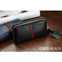 韩版女士零钱包皮双层拉链手拿包迷你时尚大容量手机包世帆家SN8740