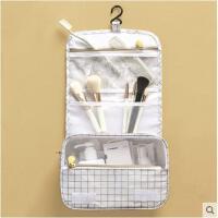 旅行洗漱包化妆包防水大容量出差多功能简约便携悬挂钩收纳包