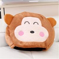 春笑 情侣款 USB暖手鼠标垫 USB鼠标垫 USB电热鼠标垫 黄猴子