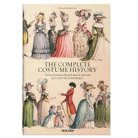 Racinet Complete Costume History XL大开本 完整的服装历史 世界各国民族古代服装史 艺术绘画作品集 画册 画集 漫画