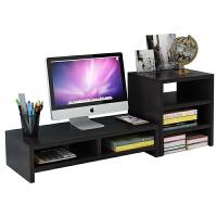 电脑显示器台式桌上屏幕底座增高架子办公室简约收纳置物架支架