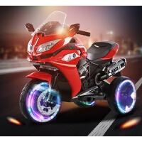 儿童电动摩托车3-6-9岁小孩电动三轮宝宝充电玩具可坐双人