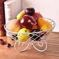 多层水果盘客厅三层水果盆果盘欧式干果盘家用简约现代创意水果篮