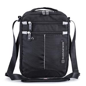 【包邮】当天发货 瑞士军刀男式单肩挎包手提ipad包休闲运动斜跨包SWB026