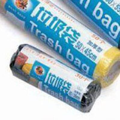 加厚型卷筒式垃圾袋 5卷 百货发烧节,秒杀5.8,点击文字进入秒杀专场