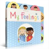 我的情绪 英文原版 My Feelings 纸板书 儿童情绪宣泄教育绘本 儿童心理健康教育