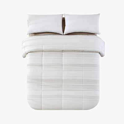 当当优品棉花双人加大冬被 全棉双层纱新疆棉花被芯220x240cm被子 玉石源(驼)当当自营