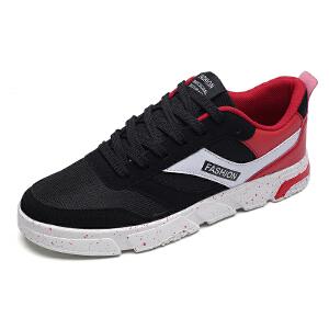 帆布鞋男棉麻休闲板鞋 秋季透气低帮韩版运动男鞋 新款潮鞋子