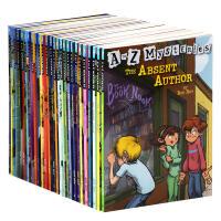【中商原版】A to Z Mysteries 神秘案件全套24册 神秘事件 英文原版儿童桥梁初级章节书 儿童经典侦探推