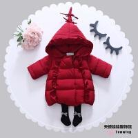 童装女童2017新款装女宝宝加厚外套小童韩版棉衣羽绒棉棉袄