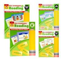 Skill Sharpeners技能铅笔刀阅读系列4册合集 英文原版英文版 美国加州练习册