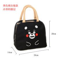 韩国饭盒袋保温袋便当袋手提包带饭的袋手拎袋帆布袋学生拎袋午餐