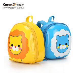 卡拉羊新款小童包1-4岁宝宝卡通书包幼儿防丢失双肩背包CX6024
