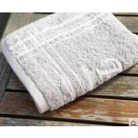 透气舒适精致耐用格子棉柔软吸水毛巾简约家用满格单格3面巾礼盒