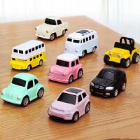 宝宝迷你惯性回力小汽车汽车玩具合金车模儿童玩具男孩