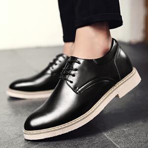 罗兰船长  时尚男靴子潮流休闲皮鞋工装鞋