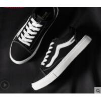 女鞋帆布鞋新款百搭韩版学生板鞋布鞋小黑鞋子女