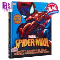 蜘蛛侠设定集 英文原版 电影设定集 Spider-Man Inside the World of Your Friendly Neighbourhood Hero DK