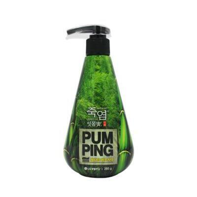 LG竹盐 派缤液体按压式牙膏 夏季护肤 防晒补水保湿 可支持礼品卡