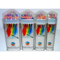 高尔乐KUELOX水溶彩色铅笔 12 24 36 48色三角金属桶装水溶彩铅 进口铅芯 三角铁盒装易收藏体面