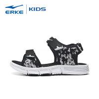 【3件3折到手价:65.7元】鸿星尔克(ERKE)男童鞋儿童凉鞋 男女中小童魔术贴运动跑步鞋轻便透气儿童休闲鞋