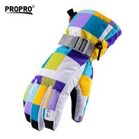 滑雪手套 触摸屏手套 男女保暖滑雪护具装备