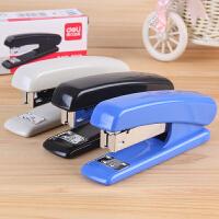得力0312办公订书机12号统一订书器钉书器装订机商务型装订器