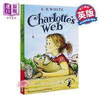 预售 【中商原版】Charlotte's Web 夏洛的网 英文原版 夏洛特的网 英版B怀特小猪威尔伯 英语小说书 阅读