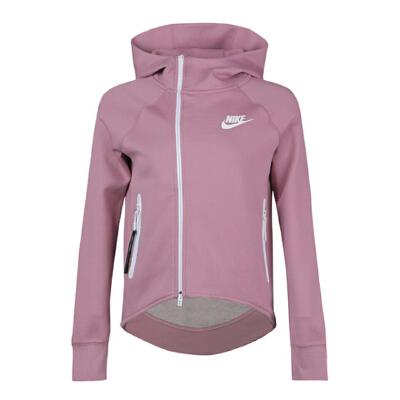 Nike耐克2019年新款女子AS W NSW TCH FLC CAPE FZ夹克930758-515 秋装尚新 潮品来袭 正品保证