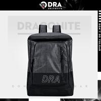 【支持礼品卡支付】DRACONITE潮牌尼龙光面双肩包男生夏时尚带盖大容量旅行背包11694