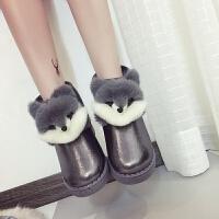 秋冬季10棉靴11雪地靴12中大童棉鞋13中小学生加绒15女孩短靴16岁