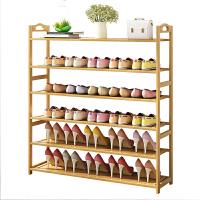 鞋架特价多层简易防尘家用经济型组装家里人门口小鞋柜实木多功能