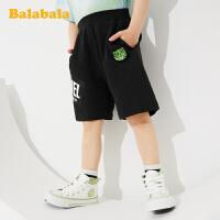 巴拉巴拉男童短裤宝宝裤子百搭时尚气儿童夏装宽松洋气五分裤纯棉