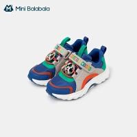 【防霉抗菌鞋� 撞色跑鞋】迷你巴拉巴拉�和��\�有�2021春新品