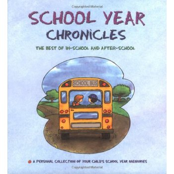 School Year Chronicles: The Best of In-School and After-School [ISBN: 978-0969920335] 美国发货无法退货,约五到八周到货