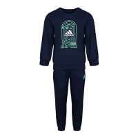 adidas阿迪达斯2019男小童LK CREWSWEAT S长袖套服DW5933