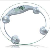 香山 体重称EB9005电子称体重称健康秤钢化玻璃人体秤家用体重计