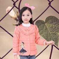 儿童羽绒女童2017新款韩版公主女童内胆小棉袄轻便羽绒棉上衣