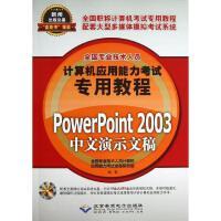PowerPoint 2003中文演示文稿 全国专业技术人员计算机应用能力考试命题研究组