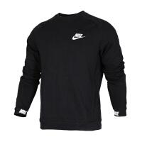 Nike耐克 男装 运动休闲圆领保暖卫衣套头衫 861745-010