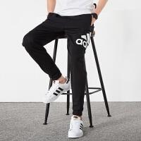 【1.17日 满330减60】Adidas阿迪达斯 男裤 2018新款运动休闲小脚透气长裤 CG1623