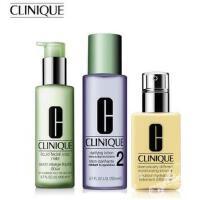 Clinique/倩碧 三步曲组合护肤品套装(三部曲) 有油黄油+温和液体洁面皂+保湿2号水