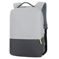 2018韩版简约双肩电脑包男女通用大容量书包休闲百搭背包14寸
